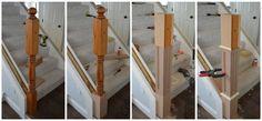 DIY Newel Post 1
