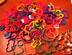 Cookie Cutter Lot Of 125