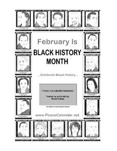 Joseph winters coloring sheet inventor of the fire escape for Black history month coloring page