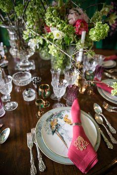 Ken Fulk table setting 2017 Kips Bay Show House