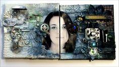 Dabrowska A. (Finnabair) 2012, 'Frost-Shadow - collage peek by Finnabair', Youtube, 18 August 2015, <https://www.youtube.com/watch?v=R9kn261Rs18>