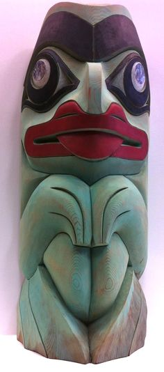 Haida Frog Totem More