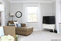 The Best Sherwin Williams Gray Paint Colors - West Magnolia Charm Popular Paint Colors, Favorite Paint Colors, Grey Paint Colors, Room Paint Colors, Paint Colors For Living Room, Paint Colors For Home, Neutral Paint, Gray Paint, Bathroom Colors