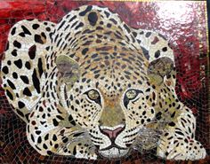 Anne Bedel, Mosaic panther