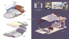 2030 Sustainable living in the countryside on Behance