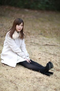 Cute Asian Girls, Pretty Girls, Stocking Tights, Sweet Dress, Asian Fashion, Fashion Models, Short Dresses, Bell Sleeve Top, Outfits