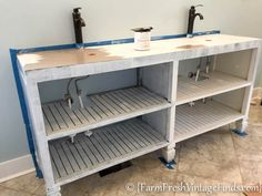 How to Build a Custom Vanity {Without the Custom Price Tag} :: Hometalk