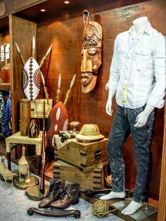 Safari display visual merchandising
