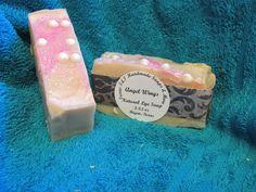 Texas T&T Antibacterial Process Lye Soap Angel Wings Lye Soap 3-3.5 oz Shea  #Unbranded