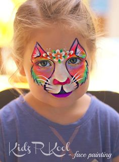 cats (part one) - 17 face paint felines - Face Paint Shop Australia Girl Face Painting, Face Painting Designs, Paint Designs, Body Painting, Lion Face Paint, Kitty Face Paint, Animal Face Paintings, Animal Faces, Cat Face Makeup