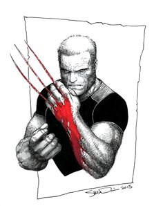 Old Man Logan - Art by Steve McNiven
