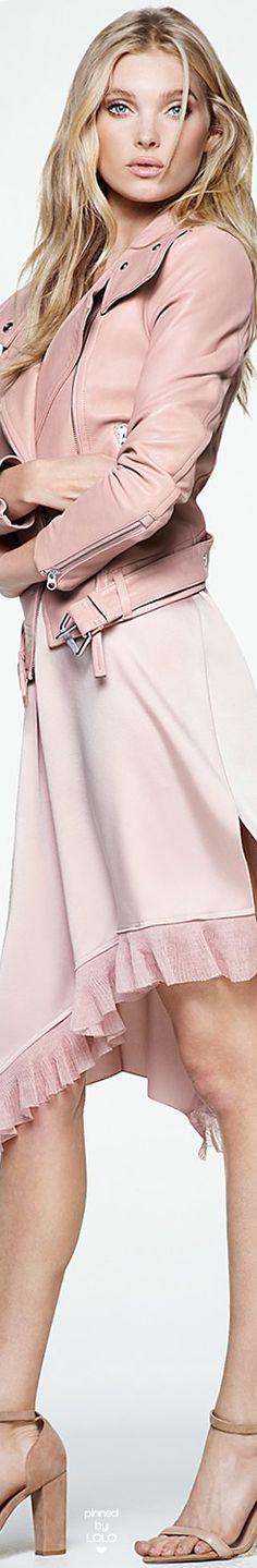 Mackage Hania Leather Moto Jacket in Petal Pink Fashion, Fashion Dresses, Womens Fashion, Blush Color, Blush Pink, Color Rosa Claro, Mode Rose, Estilo Boho, Everything Pink