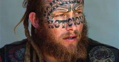 Mongrel, Red Vs Blue, Rockers, Punk, Culture, Portrait, Tattoos, Artist, People