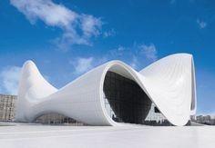 Heydar Aliyev Centre Baku (AZ) #design #kristalia