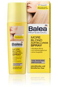 Balea Professional More Blond Aufhellungsspray