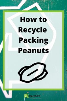 Did you know you can recycle packing peanuts? Most shipping stores will actually collect them and reuse them. Find a recycling location here: http://earth911.com/recycling-guide/how-to-recycle-packing-peanuts/