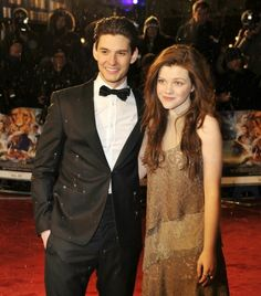 Ben Barnes and Georgie Henley. If he wasn't so much older than her, I would say they'd be an adorable couple.