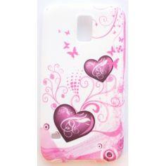 Galaxy S5 sydämet silikonisuojus.