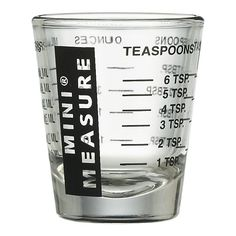 mini measure (very handy in baking)