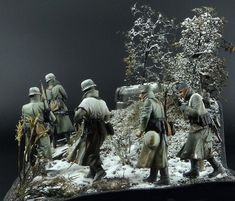 Changing of the Guard 1/35 Scale Model Diorama