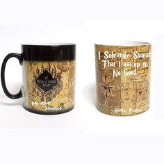color changing Harry Potter mugs-Marauders Map mug /Mischief Managed mug/Platform 9 and 3/4 mug coffee tea cup for friend gift