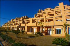 Roldan, Costa Blanca South, €72,000 Two bedroom first floor luxury apartment overlooking the Las Terrazas lake. This fully furnished property comes with air conditioning and is a great rental option. Property comprises living/dining room leading to a great terrace, American style kitchen, two good size bedrooms and family bathroom. Walking distance to bar and supermarket.