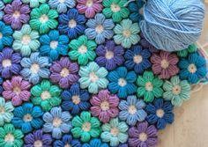 Crochê Gráfico: Flor de crochê muito fofa com PAP