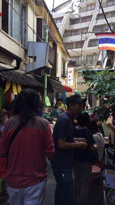 西荻窪の昼市。 アジアンな雰囲気!