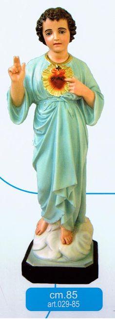 Citta Cattolica: Statue: Gesù Bambino in Resina e Vetroresina