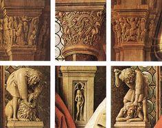 The Madonna of  Canon van der Paele (detail) - Jan van Eyck - 1436