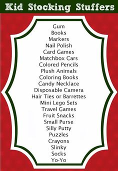 Stocking Stuffer Ideas for Kids (125+ Total Ideas for All Ages). The blonde in the pic.