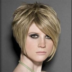 short hairstyles back view Length Asymmetrical Pixie
