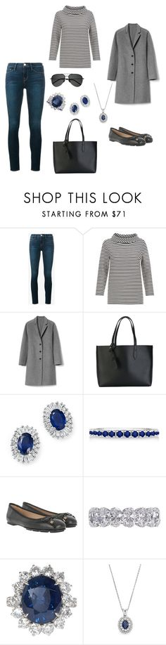 """""""London Eye"""" by laurenhansendenatly ❤ liked on Polyvore featuring Frame, Hobbs, Gap, Burberry, Bloomingdale's, Allurez, Tory Burch, Jewels by Viggi and Yves Saint Laurent"""