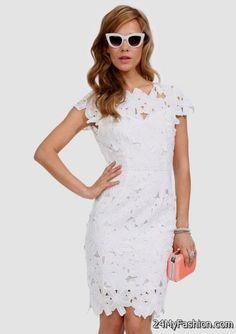 white crochet bodycon dress 2017-2018 » B2B Fashion | Cute Dresses ...