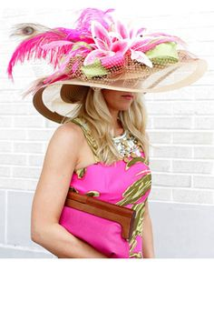 2012 Kentucky Derby Style - Hats and Fashion at the Kentucky Derby - ELLE