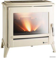 Ce poêle à bois à l'esprit rétro s'intègre parfaitement dans un cadre chaleureux et convivial. Au-del&ag...