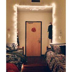 I like the lights surrounding the entrance