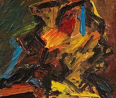 Julia - by Frank Auerbach (1931), Germany/UK