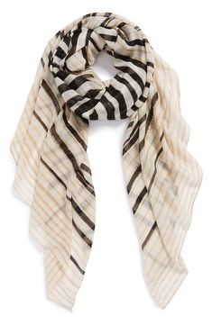 Great classy scarf to keep at the desk for when the office gets chilly