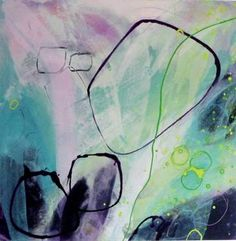 """Saatchi Art Artist ashar Art; Painting, """"be there"""" #art this piece is featured in Rebecca Wilson's collection Saatchi Art"""