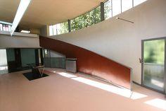 Imagen del interior de la Maison La Roche, proyectada por Le Corbusier