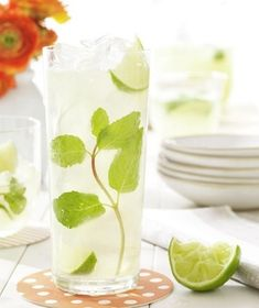 Limeade Margarita--limeade, tequila & triple sec. I will see y'all on my back patio asap! Cheers:)