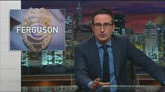 Last Week Tonight's John Oliver didn't hold back when discussing the racist emails being sent by the Ferguson, MO police department and court officials.