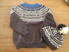 Mariusgenser i nye farger, storebror gave til Petter, strikket i Dale Falk Knitting, Sweaters, Fashion, Tricot, Moda, Fashion Styles, Breien, Stricken, Sweater