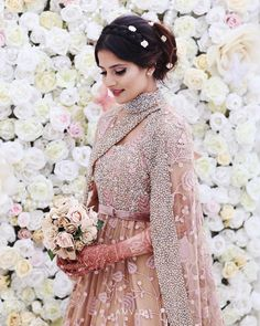 Pakistani Bride | Beautiful Capture | Spring Vibes | Perfect Pink Bridal Dress | Photography by Amvio