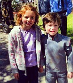 Little Emery and Little Roman