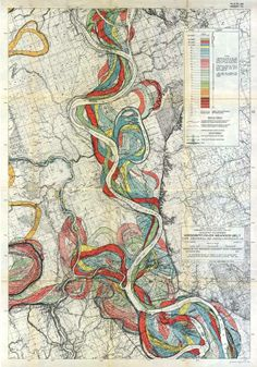 Another map of the Mississippi's paths over time