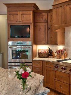 Granite Countertops - Farmhouse-Modern Kitchen on HGTV