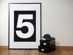 The 5 Poster. $45.00, via Etsy.
