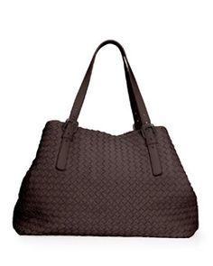Bottega Veneta Large Woven A-Shape Tote Bag 572e9451eb223